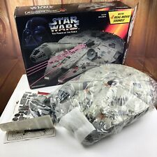 Star Wars VTG Electronic Millennium Falcon Kenner 1995 In Original Box POTF