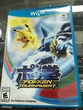 Pokken Tournament Nintendo Wii U -COMPLETE CIB - Fast Shipping!