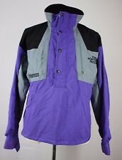 VTG Medium The North Face Steep Tech Jacket Coat Ski Parka Purple Gray Black