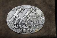 alter original Katalog MAN Mulag Aachen von 1920 Mannesmann sehr selten !
