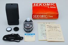 【NEAR MINT in Box】 SEKONIC STUDIO DELUXE L-398 LIGHT METER  From Japan 31