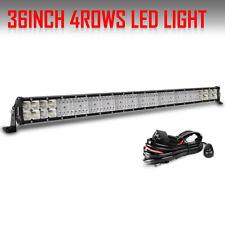 "NEW 36INCH 4680W COMBO BEAM LED WORK LIGHT BAR LENS ATV SUV 4WD Offroad 34"" 38"""