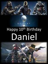 Personalised Destiny Birthday Greeting Card with Envelope 268