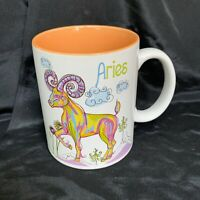 "Zodiac Aries Astrology Ceramic Mug Cup Horoscope Astrology 16 oz 4.5"" Tall"