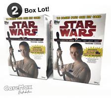 2017 Topps Star Wars Journey to Star Wars: The Last Jedi Blaster Box (2 box lot)