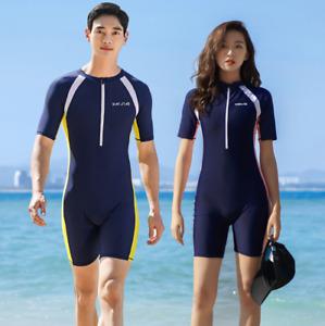 Damen Herren Surfanzug Shorty Neoprenanzug Shorty Tauchanzug Schwimmanzug