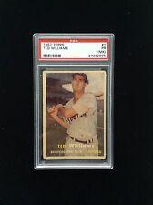 1957 Topps #1 Ted Williams PSA 1 P (MK)