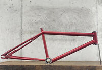 Old School BMX Redline Frame 80s MXII MXII MX RED