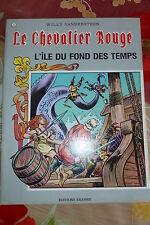 BD le chevalier rouge n°3 l'ile du fond des temps 1985 TBE vandersteen