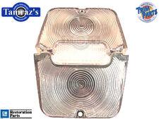 62-64 Chevy II Nova CLEAR Rear Tail Light Lamp & Back Up Lens SET L/R