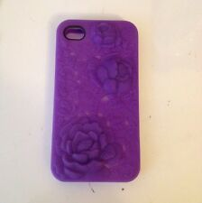 Purple Iphone 4/4s Rubber Case