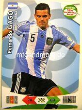 Adrenalyn XL - Fernando Gago - Argentinien - Road to 2014 FIFA World Cup Brazil