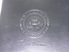 Presidential Seal President Clinton Executive Portfolio Embossed New in Box