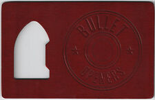 RED Bullet Credit Card Beer Bottle Cap Opener Small Thin Sized FOR Your Wallet