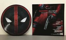 Various Artists Deadpool Reloaded Vinyl LP Limited Edition 1000 Picture Disc New
