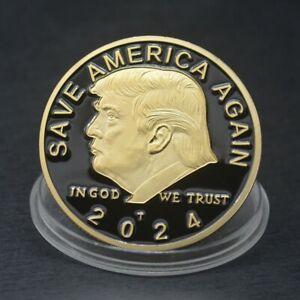 2024 President Donald Trump EAGLE Commemorative Coin Save America Again