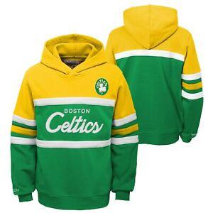 Mitchell & Ness NBA Youth Boys (8-20) Boston Celtics Head Coach Hoodie