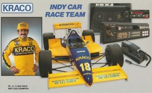 1989 Bobby Rahal Kraco Cosworth Lola Indy Car Hero Card