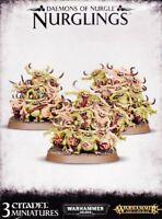 Daemons of Nurgle Nurglings Dämonen Games Workshop Warhammer 40k AoS Death Guard