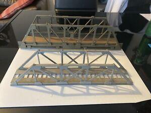 2 X Oo Gauge Gurder Bridges Poor Condition