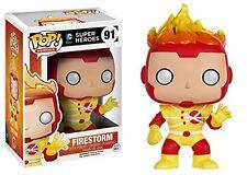 """DC COMICS FIRESTORM 3.75"""" VINYL FIGURE POP HEROES 91 FUNKO BRAND NEW"""