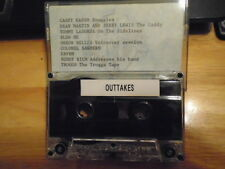 VERY RARE PROMO Outtakes CASSETTE TAPE Casey Kasem DEAN MARTIN Jerry Lewis WB !