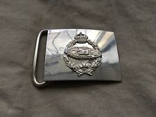 Original WW2/1950s British Army Royal Tank Regiment (RTR) Chrome Belt Buckle