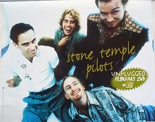 STONE TEMPLE PILOTS MTV UNPLUGGED 1993 VINTAGE MUSIC RECORD STORE PROMO POSTER
