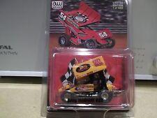 GREG HODNETT J&S FABRICATION NUTMEG WORLD OF OUTLAWS DIRT 1:64 SPRINT CAR RACE