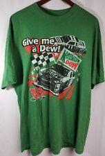 Mens Tshirt Dale Jr Give Me A Dew Green XL (AB46)
