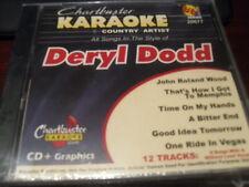 CHARTBUSTER 6+6 KARAOKE DISC 20677 DERYL DODD CD+G COUNTRY MULTIPLEX