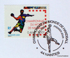HANDBALL  FRANCE Yt 3367 OBLITERATION 1er JOUR  NOTICE PHILATELIQUE