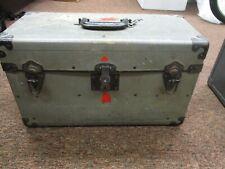 Graflex 4 X 5 camera compartment case 20 X 9 X 11 Graflex brand case gray color