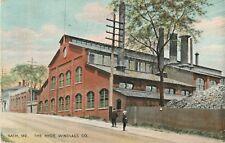 A View Of The Hyde Windlass Company, Bath,  Maine ME