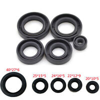 Motorcycle Engine Rubber Oil Seal Set For Suzuki GN125 GS125 Engine Accessories