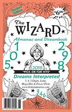 2019 The Wizard Almanac - Dream Book - Lottery Book - Numerology Book -  Lottery