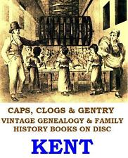 Kent Genealogy Parish Reg Local History Topography 48 Vintage Books on Data Disc