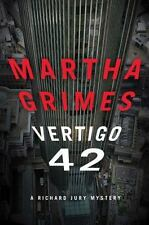 Vertigo 42: A Richard Jury Mystery - New - Grimes, Martha - Hardcover