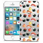 Coque Crystal Pour iPhone 5/5s/SE Extra Fine Rigide Foodie Sushi