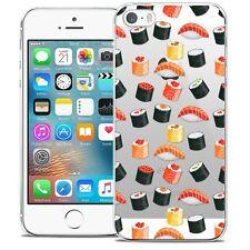 Carcasa Cristal para iPhone 5/5s/SE Extra Fina Rígido Foodie Sushi