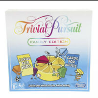 Trivial Pursuit Family Edition Board Game Hasbro
