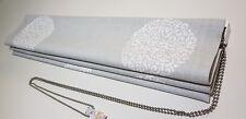 Laura Ashley * Westwick Steel Fabric* Bespoke Roman Blind * 100cm width