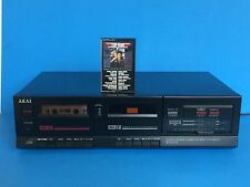 Vintage 80's | AKAI HX-A301W | Stereo Dual Cassette Tape Deck | TESTED