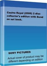 Casino Royal (2006) 2 disc collector's edition with Bond on set book.