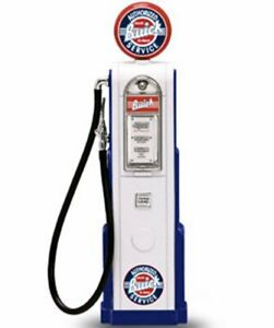 Digital Gas Pump Buick White Yatming 98681 1/18 Scale Model for Diecast Cars
