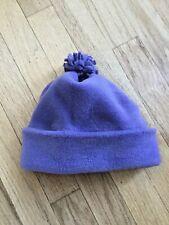 Girls Gap Light Purple Fleece Hat Size S