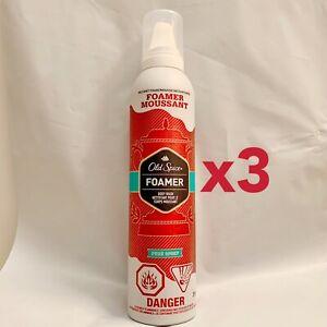 3x Old Spice Pure Sport Men Foamer Instant Foaming Body Wash 10.3 Oz Each NEW
