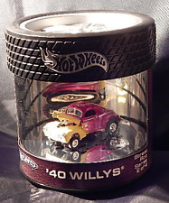 '40 Willys Street Rod Series Free Ship See Details Hot Wheels Oil Can Showcase