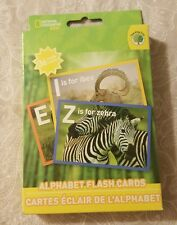 TEACHING TREE National Geography Kids Alphabet/Animal Game Cards