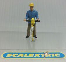 Estilo Vintage Hombre de mantenimiento de pista para Scalextric Airfix Ninco SCX FLY + 1.32... d